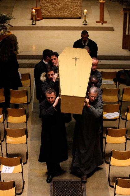 Obsèques de frère Marie-Jacques