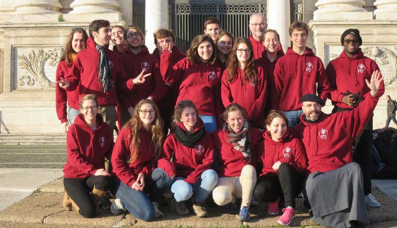 Activités des étudiants avec les Frères de Saint-Jean