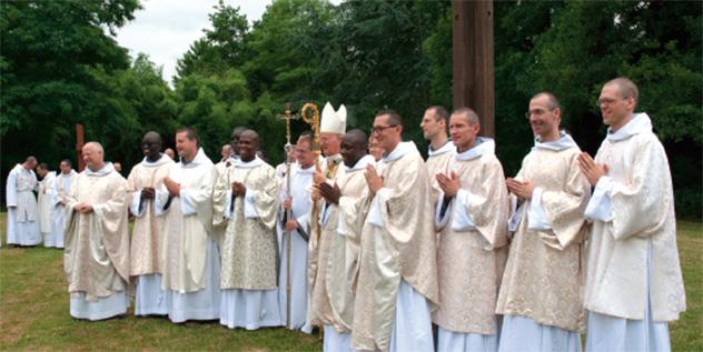 Ordinations diaconales et sacerdotales des Frères de Saint-Jean 2018