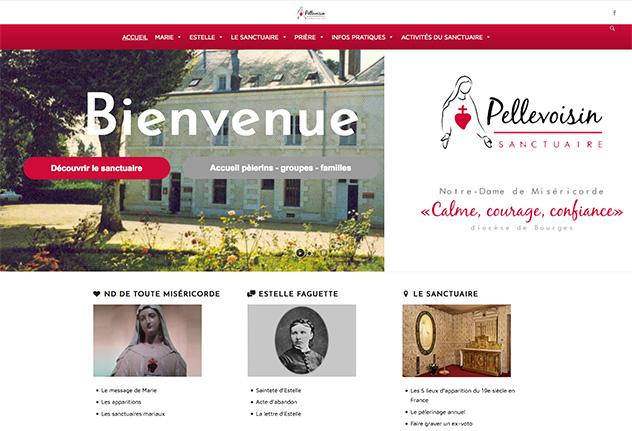 Site internet des Frères de Saint-Jean au sanctuaire de Pellevoisin