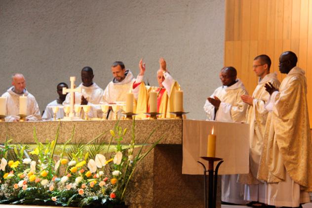 Frères de Saint-Jean : ordinations diaconales et sacerdotales 2018