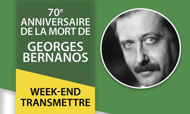 70e anniversaire de la mort de Georges Bernanos au sanctuaire de Pellevoisin