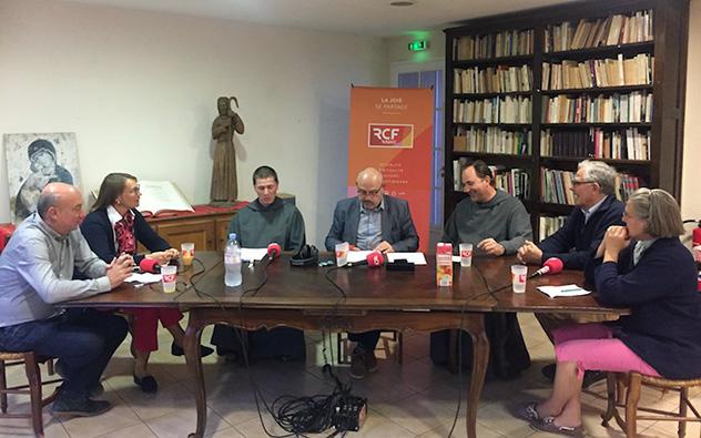 Interview RCF des Frères de Saint-Jean,, oblats, bénévoles de Richemont