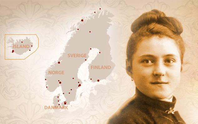 Les reliques de Sainte Thérèse en route vers la Scandinavie
