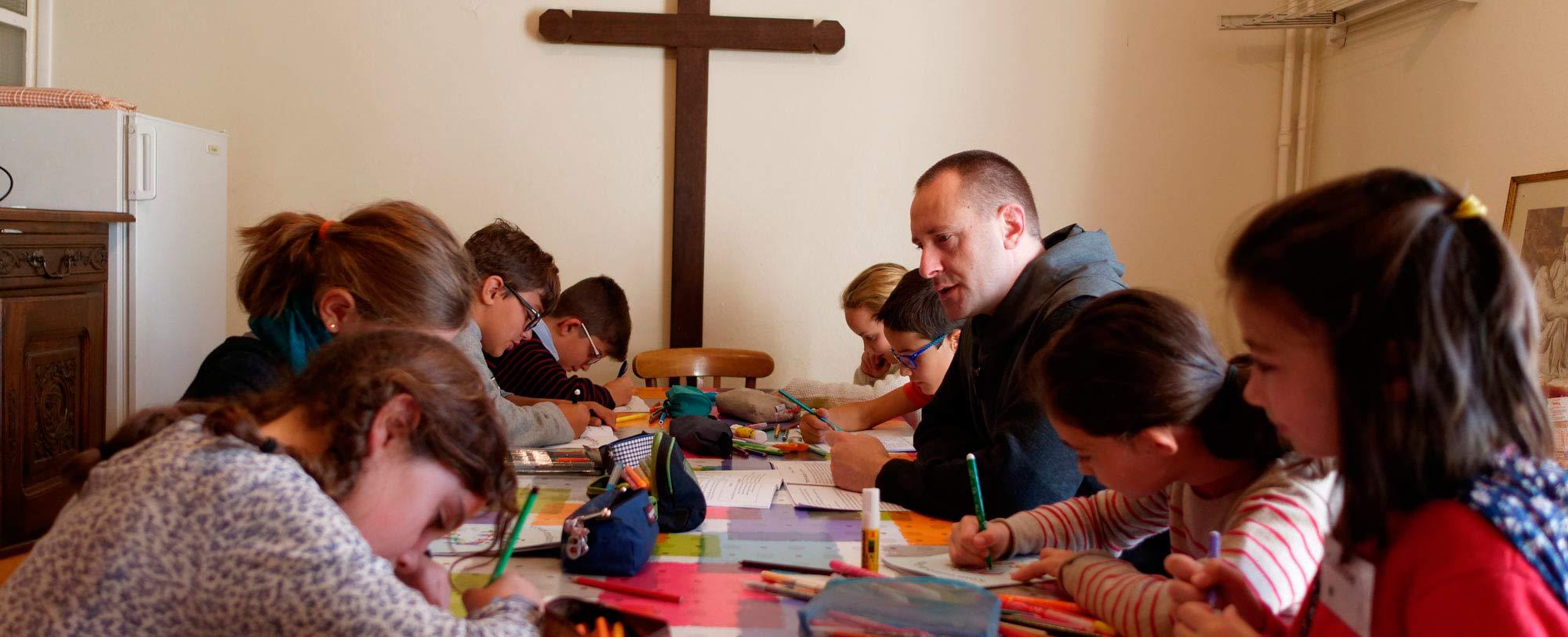 Slider diaporama page d'accueil du site des frères de Saint-Jean en France