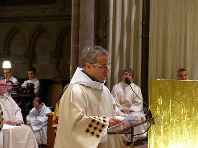Ordination diaconale de Gilles Benkemoun, oblat de Saint-Jean
