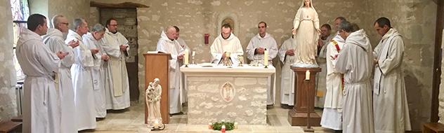 Chapitre vicarial France-Centre 2018 des Frères de Saint-Jean