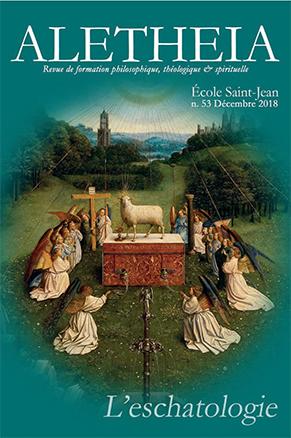 Frères de Saint-Jean, nouvelle publication Aletheia N°53
