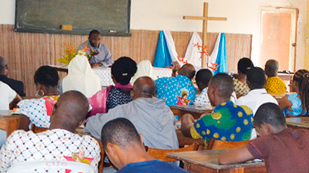 L'Institut Africain des Valeurs Culturelles et Familiales animé par les Frères de Saint-Jean à Abidjan