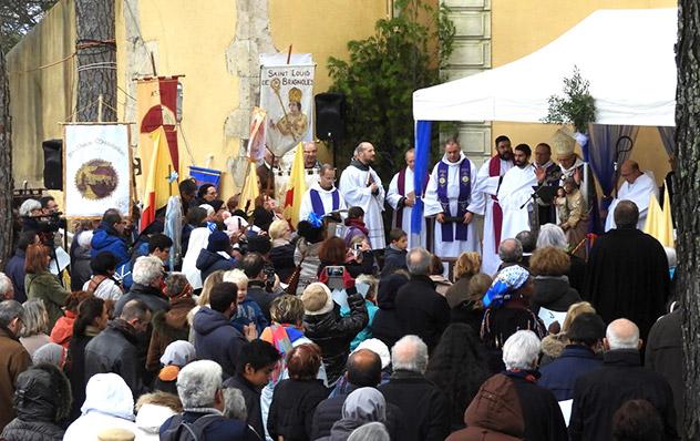 Frères de Saint-Jean : Ouverture du jubilé de Notre-Dame de Grâces à Cotignac