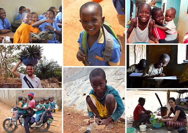 Frères de Saint-Jean : photos de Noé Mission