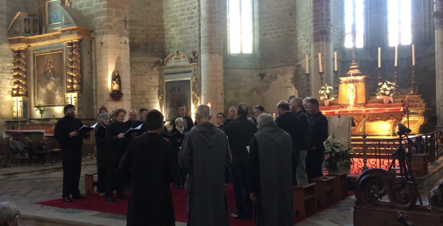 Stage plain-chant et faux-bourdon pour les Frères de Saint-Jean à la Chaise-Dieu