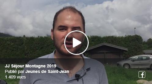 Le séjour montagne des Jeunes de St Jean
