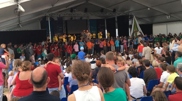8ème Festival Saint-Jean des Familles au Sanctuaire Marial de Pellevoisin.