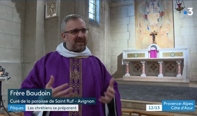 Frère Baudouin sur France 3 PACA