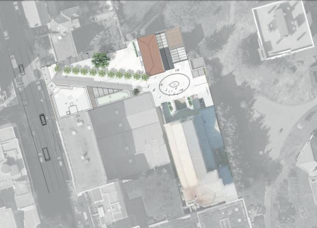 Plans du projet immobilier de la paroisse Sainte-Cécile à Boulogne-BIllancourt