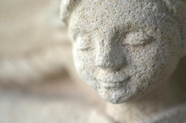 Sculpture Vierge à l'enfant frère Jean d'Ephèse