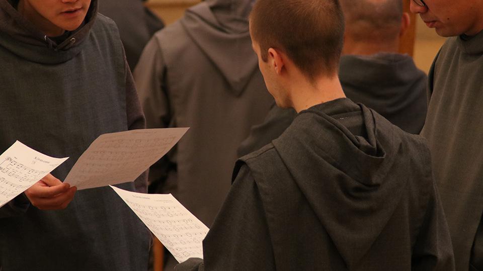 Novices des Frères de Saint-Jean