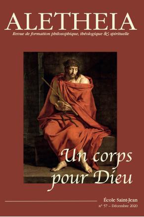 """Publication Aletheia 57 """"Un corps pour Dieu"""""""