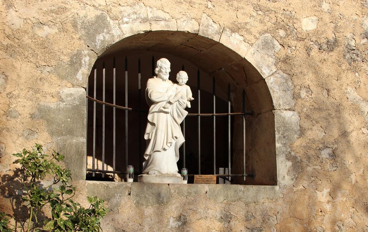 Saint Joseph à la fontaine du Bessillon